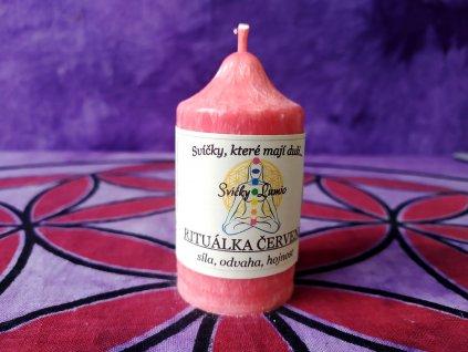ritualni svice červena 11