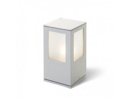 PONDER 20 nástěnná / stojanová stříbrnošedá 230V E27 18W IP44
