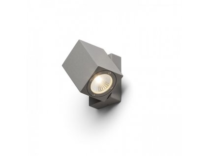 DAZOOM náklopná stříbrnošedá 230V/350mA LED 7W 60° IP54 3000K