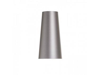 CONNY 15/30 stolní stínidlo Monaco holubí šeď/stříbrné PVC max. 23W