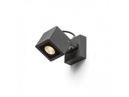BORA nástěnná antracitová 230V LED 6W 44° IP54 3000K
