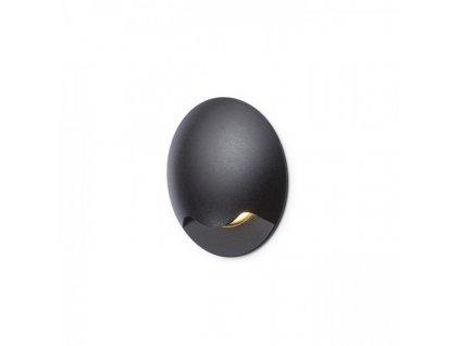 KICK I zápustná černá 230V LED 3W IP54 3000K