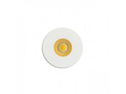 RIO R zápustná bílá 230V LED 3W 22° 3000K