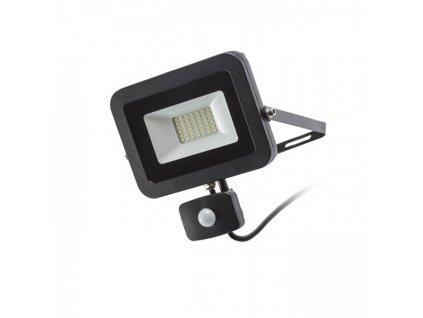PONTA reflektor se senzorem černá 230V LED 30W 120° IP54 3000K