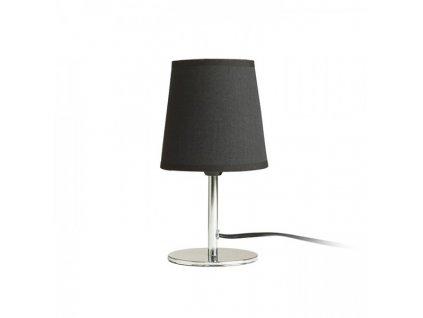 MINNIE stolní černá chrom 230V E14 15W