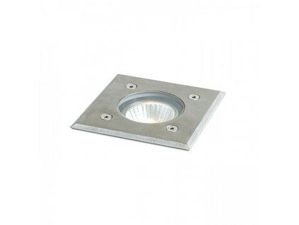 ORBU SQ 10 zápustná nerezová ocel 230V LED GU10 15W IP67