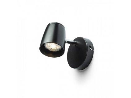 JOLI I nástěnná černá 230V LED GU10 10W
