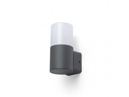 BONNIE nástěnná antracitová opálový PP 230V E27 28W IP44