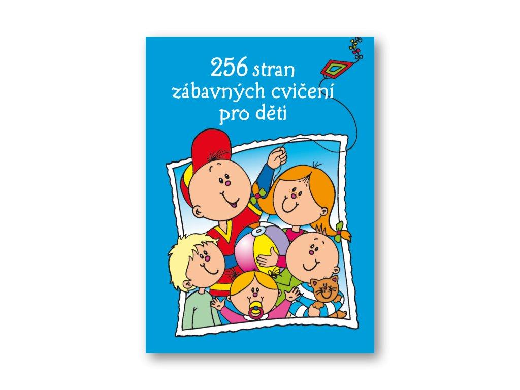 256 stran zábavných cvičení pro děti od 4-5 let