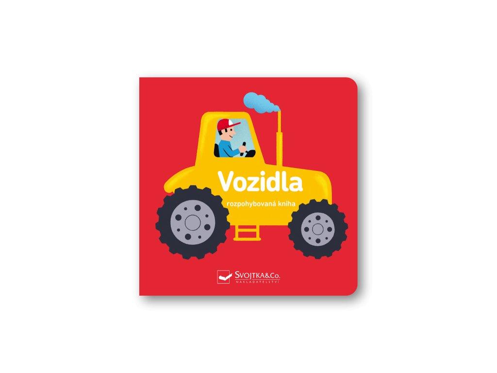 Vozidla - rozpohybovaná kniha