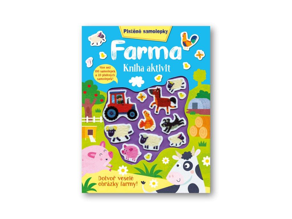 Plstěné samolepky - Farma - kniha aktivit