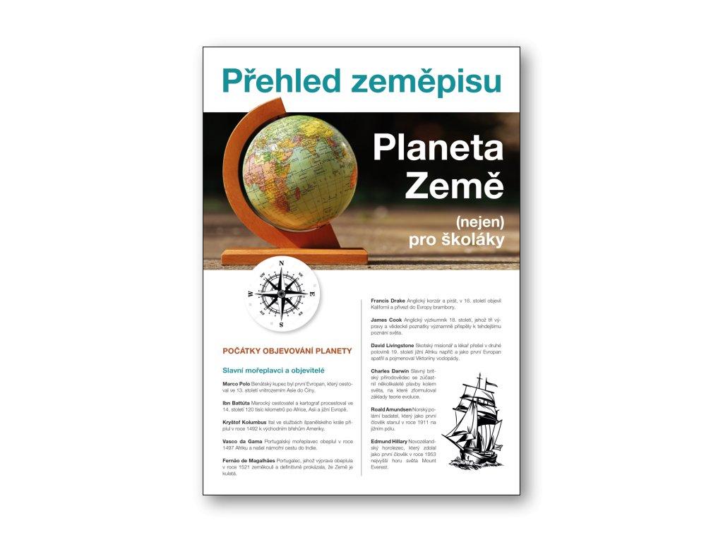 Planeta Země Přehled zeměpisu (nejen) pro školáky  Martin Kolář