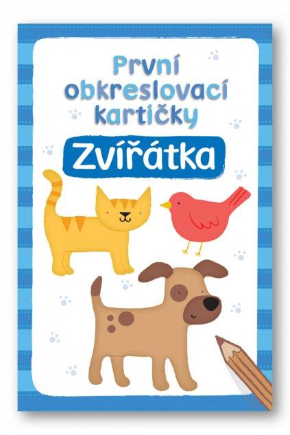 První obkreslovací kartičky  Zvířátka