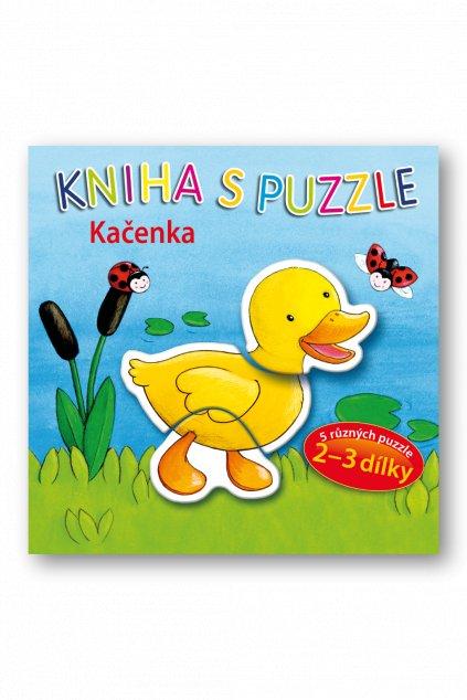Kniha s puzzle - Kačenka