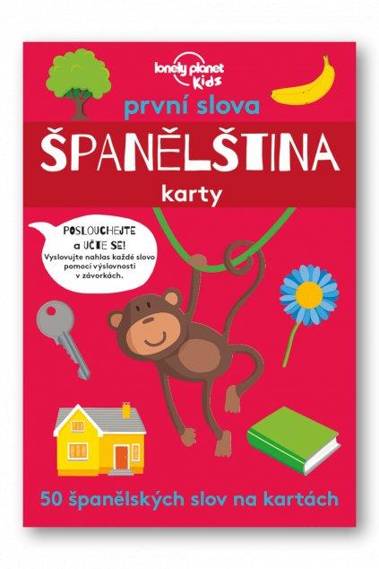 První slova Španělština karty