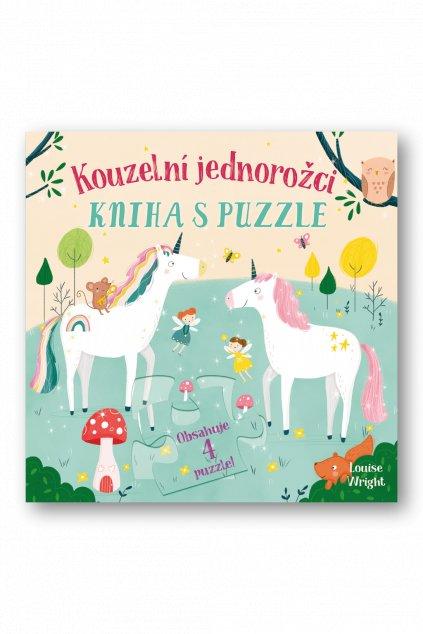 Kouzelní jednorožci Kniha s puzzle