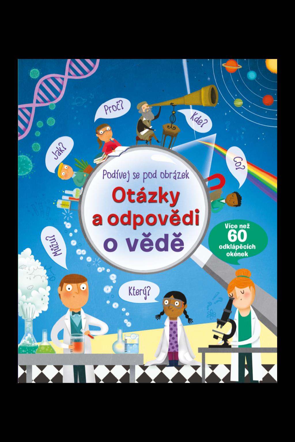 Levně Otázky a odpovědi o vědě – Podívej se pod obrázek