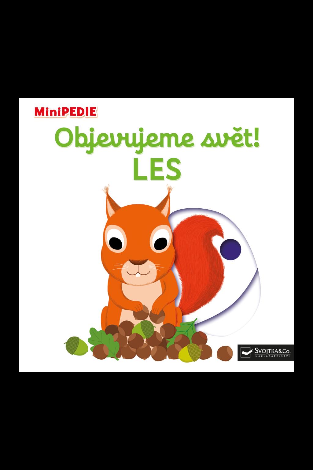 Levně MiniPEDIE - Objevujeme svět! LES