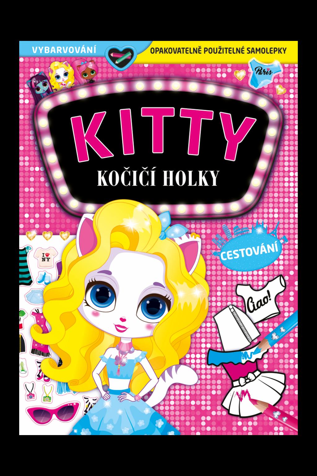 Levně KITTY - Kočičí holky - Cestování