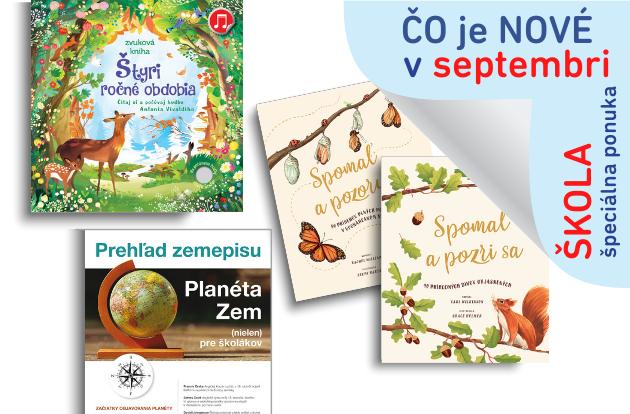Predstavujeme septembrové knižné novinky