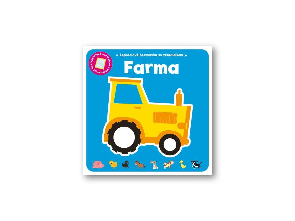 Leporelová harmonika so zrkadielkom – Farma
