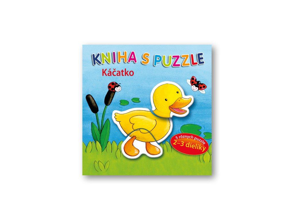 Kniha s puzzle – Káčatko