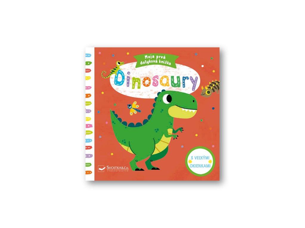 Moja prvá dotyková knižka Dinosaury