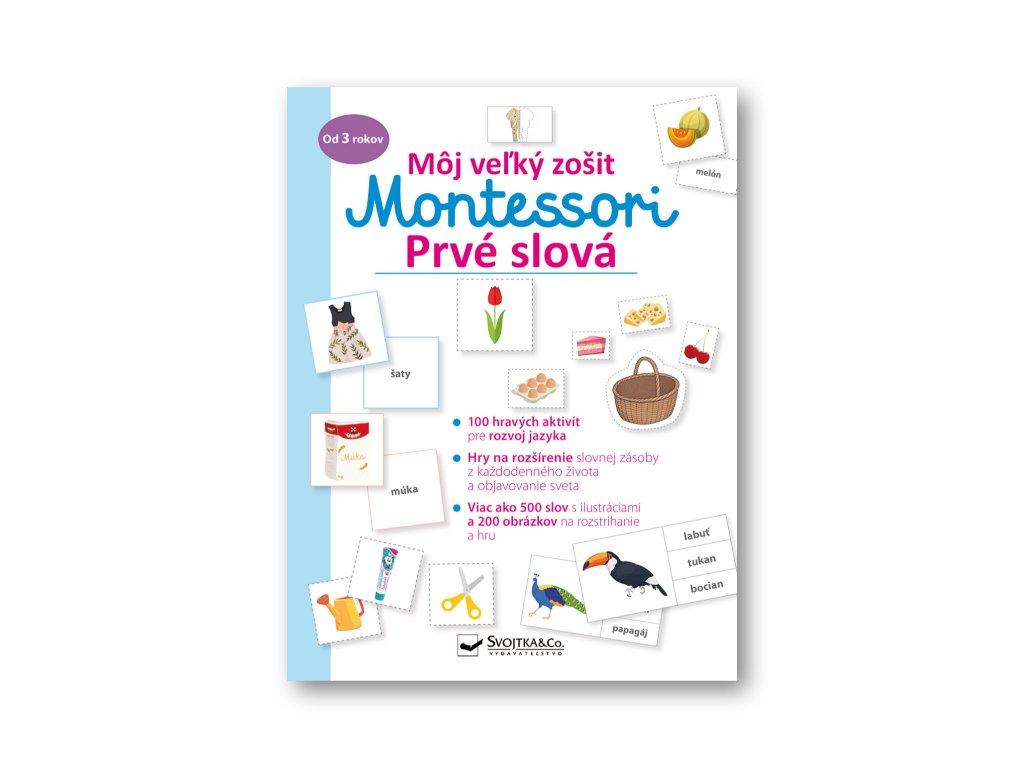 Môj veľký zošit Montessori Prvé slová