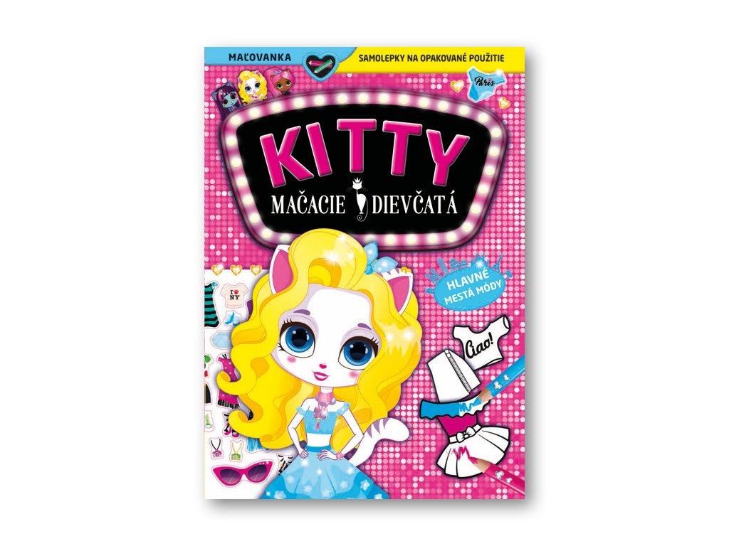 KITTY Mačacie dievčatá - Hlavné mestá módy