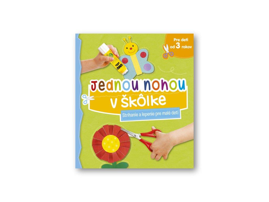Jednou nohou v škôlke – Strihanie a lepenie pre malé deti