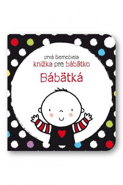 Prvá čiernobiela knižka pre bábätko Bábätká