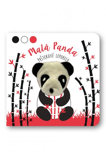Malá panda - prštekové leporelo