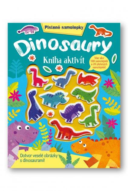 Plstené samolepky  Dinosaury  kniha aktivít