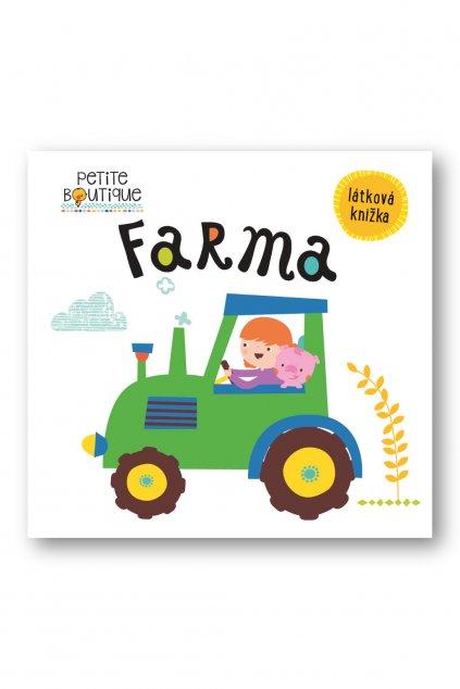 Petite Boutique Farma, látková knižka  Véronique Petit