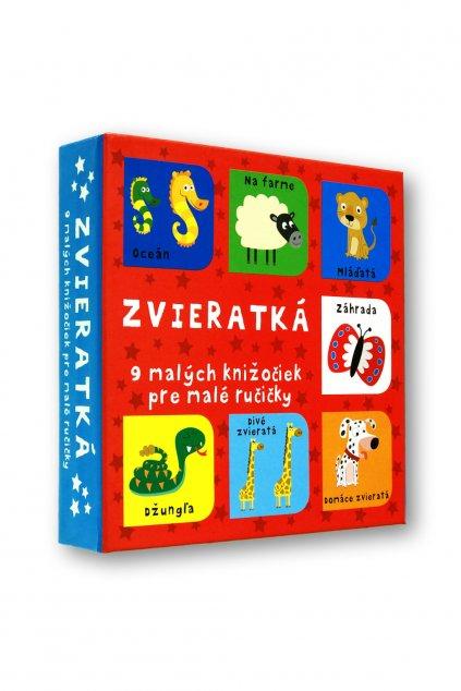 Zvieratká - 9 malých knižočiek pre malé ručičky