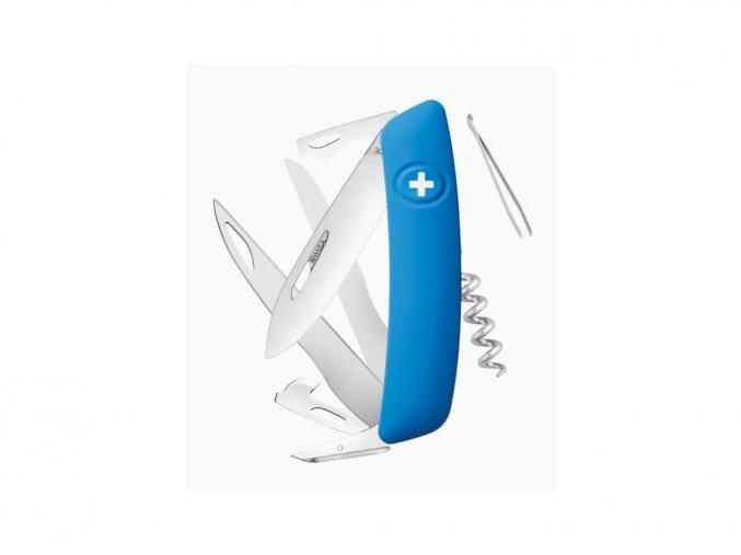 10092 swiza svycarsky kapesni nuz d07 blue