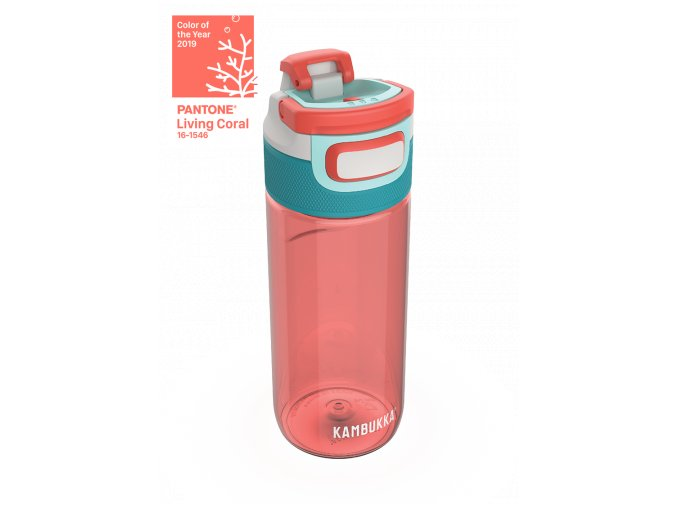 water bottle elton 500ml living coral above color of the year 0