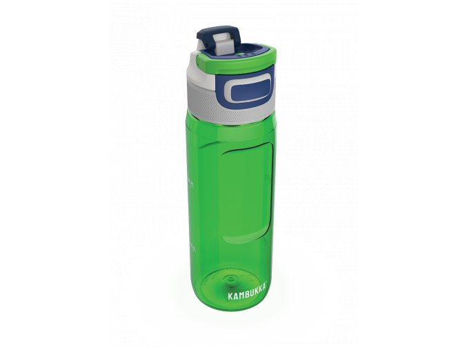 water bottle elton 750ml spring green above