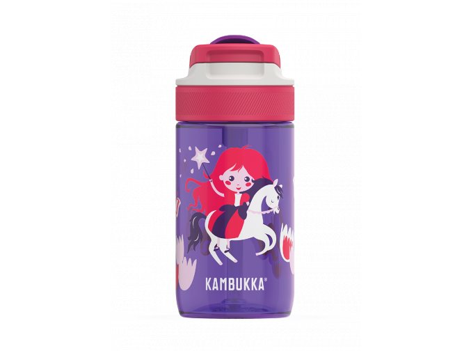 kids water bottle lagoon 400ml magic princess back