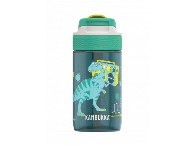 kids water bottle lagoon 400ml urban dino back