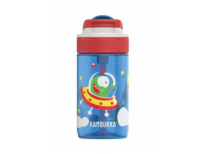 kids water bottle lagoon 400ml happy alien back 0