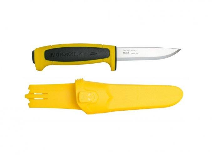 539 morakniv pracovni nuz basic 546 yellow black limited edition