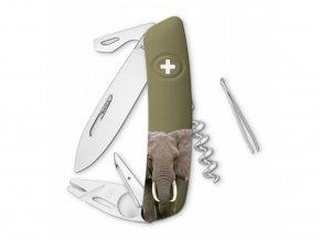 10131 swiza svycarsky kapesni nuz tt03 elephant wildlife