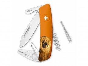 10137 swiza svycarsky kapesni nuz tt03 lion wildlife