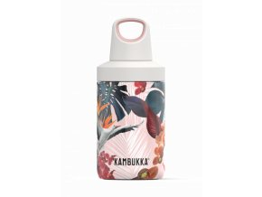 water bottle reno insulated 300ml orchids front 4