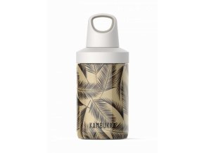 water bottle reno insulated 300ml palms front 4