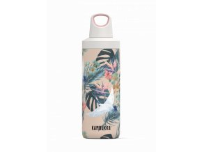 water bottle reno insulated 500ml paradise flower front 7