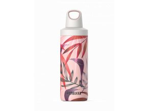 water bottle reno insulated 500ml trumpet flower front 7
