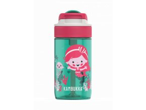 kids water bottle lagoon 400ml ocean mermaid back