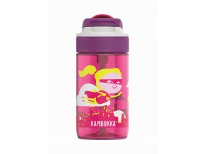 kids water bottle lagoon 400ml flying supergirl back 4
